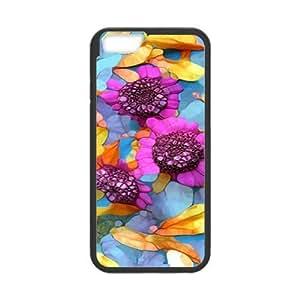 Case Cover For Apple Iphone 6 4.7 Inch Elegant Flower Phone Back Case Customized Art Print Design Hard Shell Protection FG075794