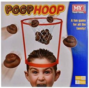 Unbekannt Basketball Poop Hoop Spiel Netz Kinder Spa/ß Sommer Aktivit/ät Poo Ziel-Haarband