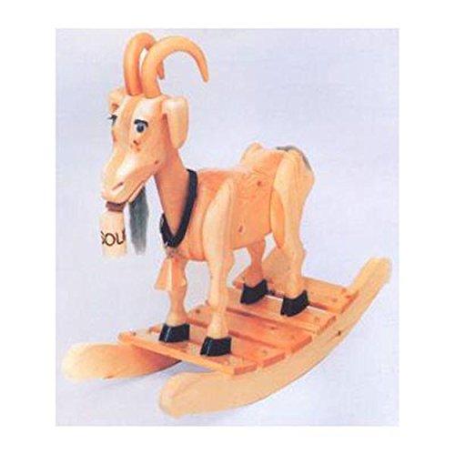 Rocker Plan (Woodworking Project Paper Plan to Build Bill E. Goat Rocker)