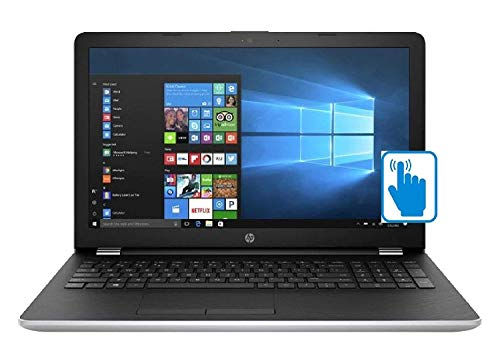 "2018 HP 15.6"" Touchscreen Laptop PC, Intel Core i5-7200U, 8GB DDR4, 2TB HDD, Intel HD Graphics 620, 802.11ac, Bluetooth, DVD RW, USB 3.1, HDMI, Webcam, Windows 10 Home, Silver"
