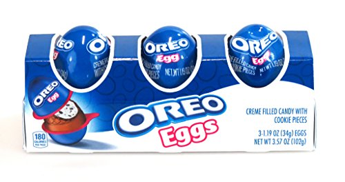 5 Boxes of 3 Oreo Eggs Cream Filled Candy Cookie Pieces