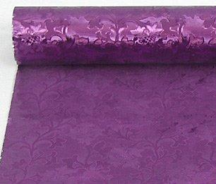 Embossed Florist Foil PURPLE- Camelot style design. NEW larger size - 20
