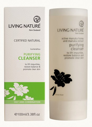 (Living Nature - Purifying Cleanser 100 Ml)