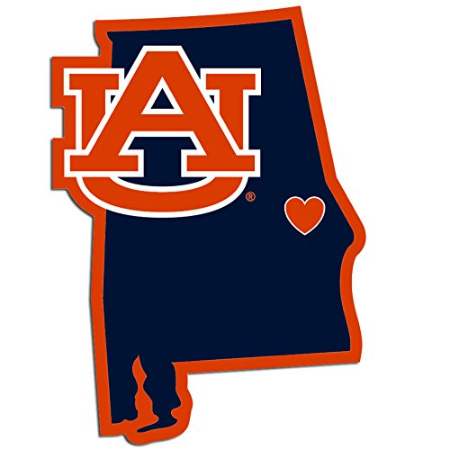 Siskiyou NCAA Auburn Tigers Home State Decal, 5