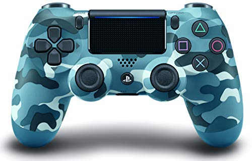 41E6Cuf3 wL - DualShock 4 Wireless Controller for PlayStation 4 - Blue Camouflage
