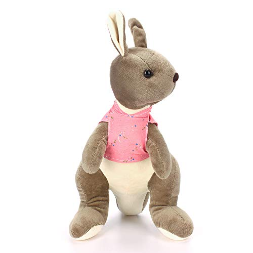 MK MATT KEELY Blue Kangaroo Stuffed Toys for Boys Girls Cute Animals Cartoon Small Dolls 9.8 inch Birthday Gift