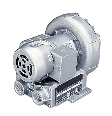 Regenerative Blower, Single Phase; 74 cfm at 50 Hz, 92 cfm at 60 Hz