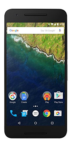 Huawei Nexus 6P  unlocked smartphone, 128GB Silver (US Warranty)