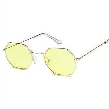 QDE Gafas de sol Gafas De Sol Hexagonales Lentes De ...