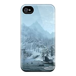 CCJ6292cMWW Cases Covers Skyrim Snowy Mountains Iphone 6plus Protective Cases
