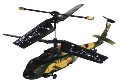 Cobra R/C 3 Channel Mini Helicopter - Black Hawk from Cobra