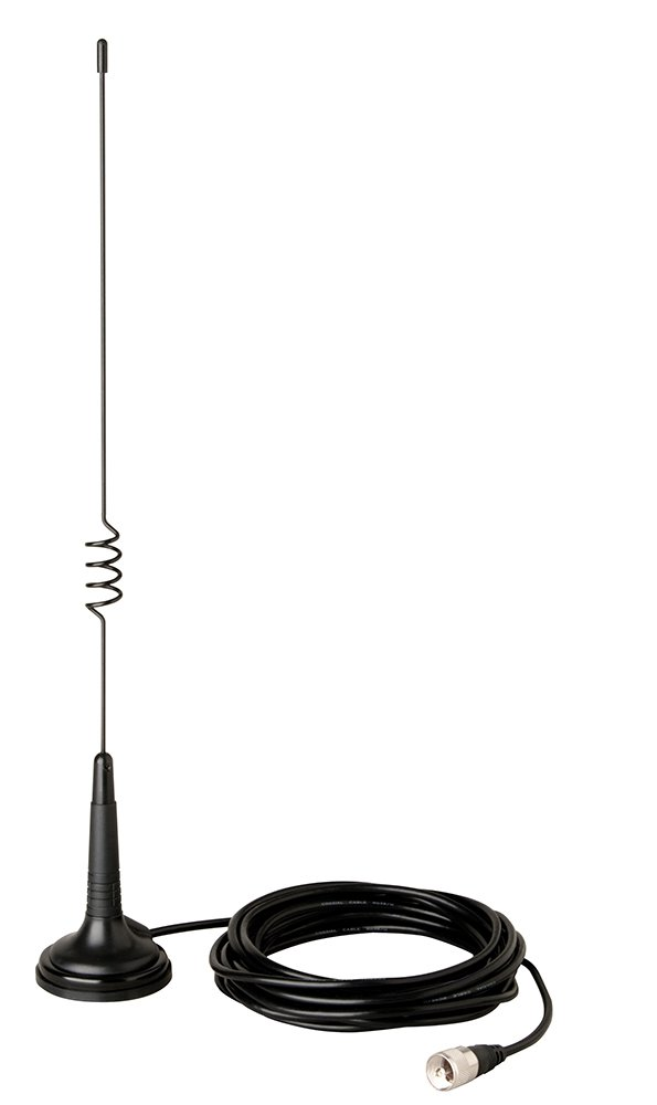 Cobra HG A 1000 Base-Load Small Mount 100W CB Antenna HG A1000