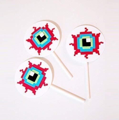 Amazon com: Terraria Eye Cupcake Toppers, Terraria Party