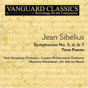 Sibelius: Symphonies Nos. 5, 6 & 7 / Tone Poems