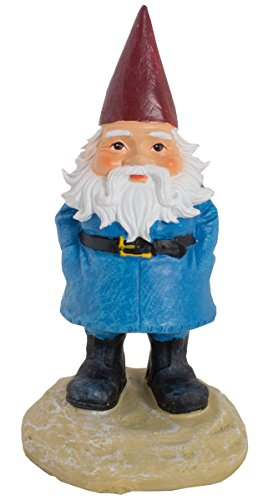 "Chica and Jo Travelocity Gnome 8"" Statue - Officially Licensed Travelocity Roaming Gnome"