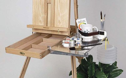 Shelf Help: French Easel Shelf- Left Hand (EASEL NOT INCLUDED)