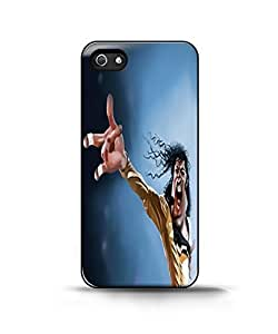 funny michael jackson Case For Iphone 5/5S Cover Back Case Cover