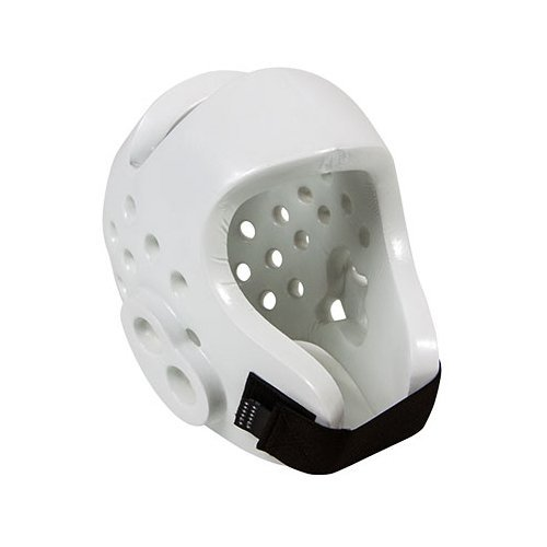 Tiger Claw Sparmaster Pro-Spar Head Guard (NO LOGO) - White - Child