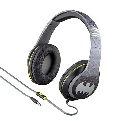 Batman On Ear Headphones with Built In Mic