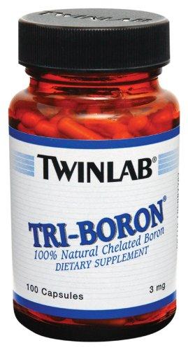 TwinLab - Tri-Boron, 3 mg, 100 capsules