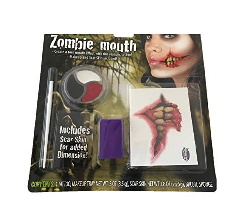 Bleyer Easter Packaging Div Halloween Make Up - Zombie Mouth for $<!--$4.99-->