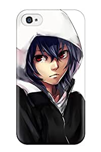 Flexible Tpu Back Case Cover For Iphone 4/4s - Tokyo Ghoul