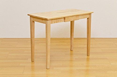 木製テーブル 北欧 シンプルでおしゃれな 素敵な 暮らし 木製テーブル 90×45cm ナチュラル B00W74MBXQ