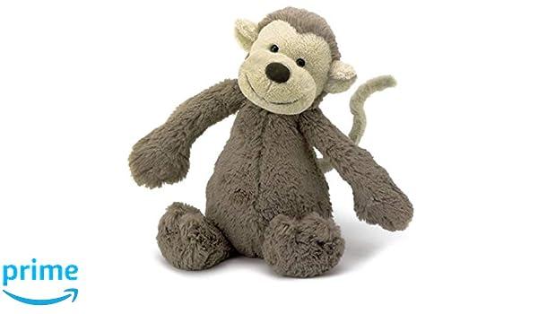 Jellycat Bashful - Mono de peluche (mediano, 31 cm): Amazon.es: Juguetes y juegos