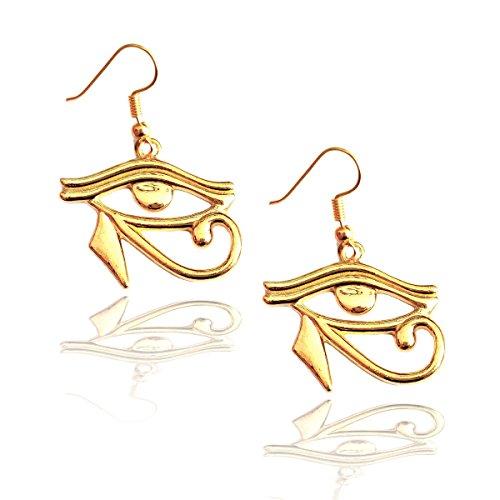 Goddesses Greek Mythology Of Gods Costumes And (Golden Eye of Horus Egyptian Drop)