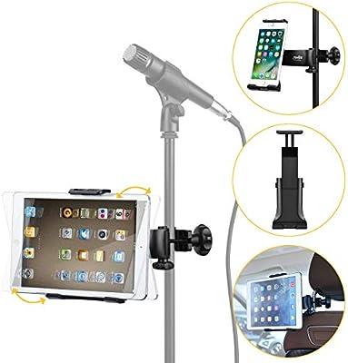 Moukey - Soporte para smartphone tablet iPad giratorio para pie de ...