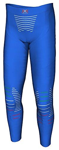 X Bionic Junior Invent UW Pants Long Funktionsunterwäsche Multisport, Unisex Kinder, Blau (Blue Italy)