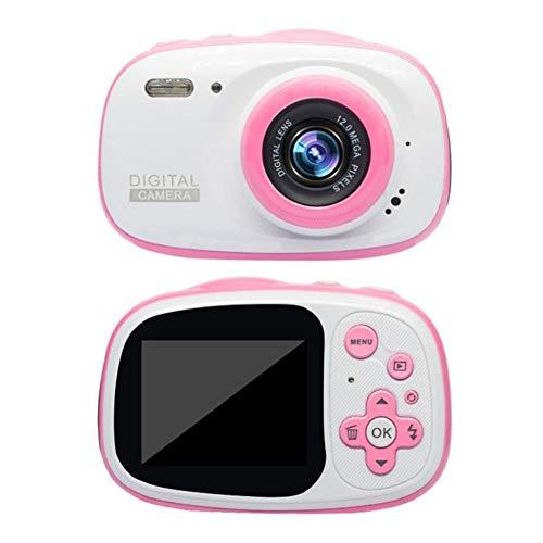 Exuberanter Kinderkamera 1080P HD Mini Digitalkamera Wasserdicht Stoßfest USB Wiederaufladbar Unterwasser Kids Kamera…