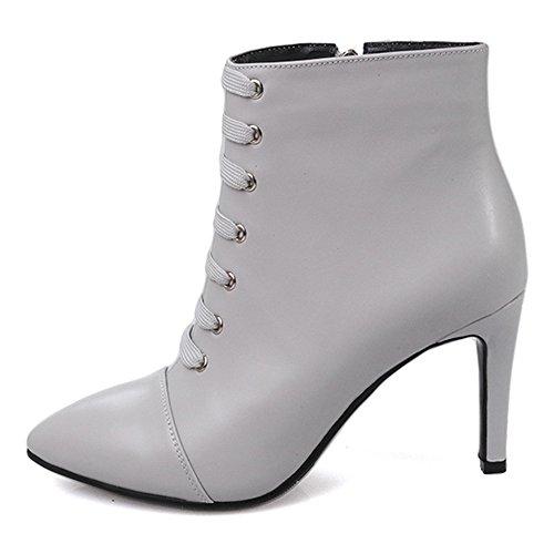 Nine SevenAnkle-boots - Botas mujer gris