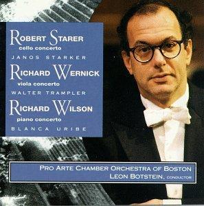 Starer, Wernick, Wilson: 3 Concertos