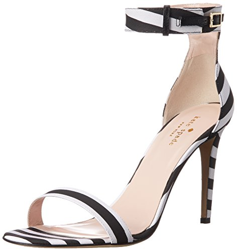 kate spade new york Women's Isa Dress Sandal - Black/Whit...
