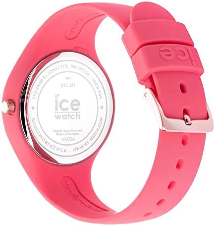 Ice-Watch - ICE glam colour Raspberry - Montre rose pour femme avec bracelet en silicone - 015331 (Small)