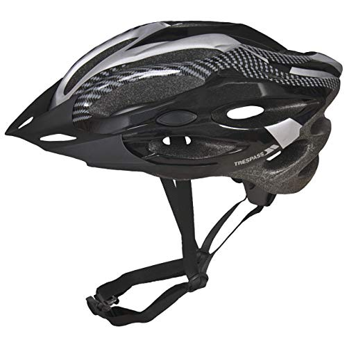 Trespass Volwassen fietshelm fietshelm veiligheid lichtgewicht ontwerp gespecialiseerd voor mannen vrouwen met…