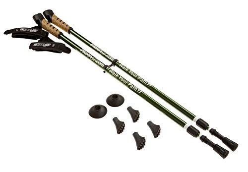 Keenfit GREEN 2-Piece Fitness Exercise Assisting Walking Poles