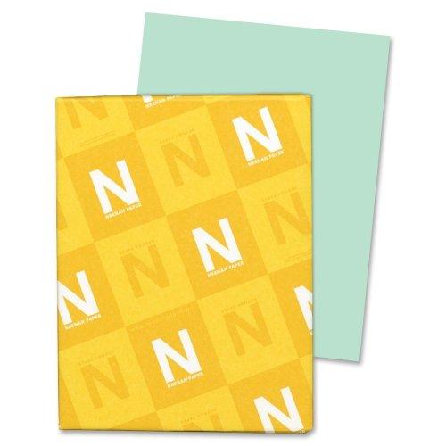 Wholesale CASE of 15 - Wausau Exact Vellum Bristol Paper-Vellum Bristol Paper,67 lb,8-1/2''x11'',92 Bright,250/PK,GN by Wau