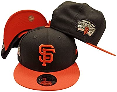 San Francisco Giants Victory Side 9FIFTY Adjustable Snapback Hat / Cap from New Era
