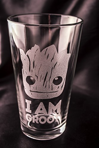 Guardians of the Galaxy Pint Glass