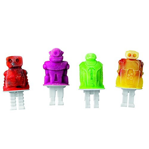 Tovolo Robot Pop Molds - Set of 4