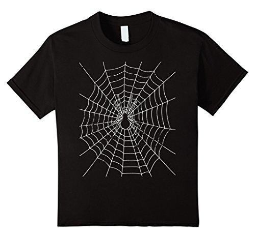 unisex-child Halloween Spider Web Costume T Shirt 4