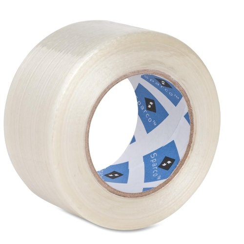 Wholesale CASE of 20 - Sparco Superior-Performance Filament Tape-Filament Tape, 3'' Core, 2''x60 Yards
