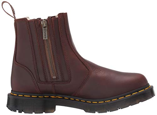 2976 W Dr Boot zips Brown Dark Alyson Martens 7R5qB5C