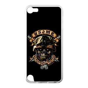 Fantasy Skull Marine Corps Metal Pattern Diy For Touch 5 Case Cover Shell Cover