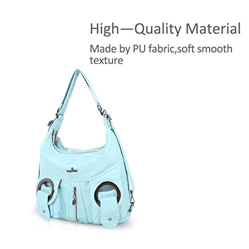 NICOLE Totes Purses Pockets Handbags Bags Casual DORIS Bags amp; Women Slouch Blue Hobo Multiple 1 Hq8wrAHC