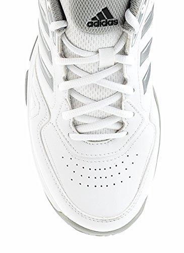 gris V111 Pour Blanc Chaussures Sport Formateurs De Femme Ambition Adidas str Tennis 6BFUqx