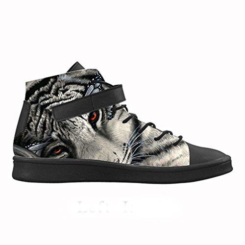 CHEESE Zapatos de mujer Lyra decorados con rayas de tigre, talla 40: Amazon.es: Coche y moto