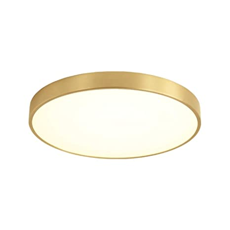 Moderna lámpara de techo LED redonda, moderna, de color ...